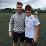 Dominick Coniglio trained under the direction of Adrian Osborne UEFA A LICENSE NOTTINGHAM FOREST ACADEMY Coach